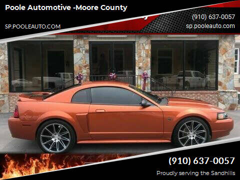 2000 Ford Mustang for sale at Poole Automotive in Laurinburg NC