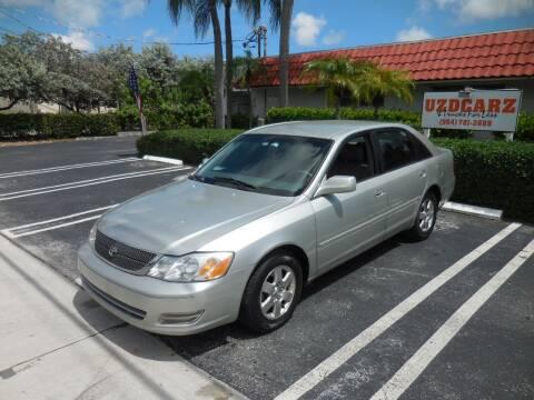 2002 Toyota Avalon for sale at Uzdcarz Inc. in Pompano Beach FL