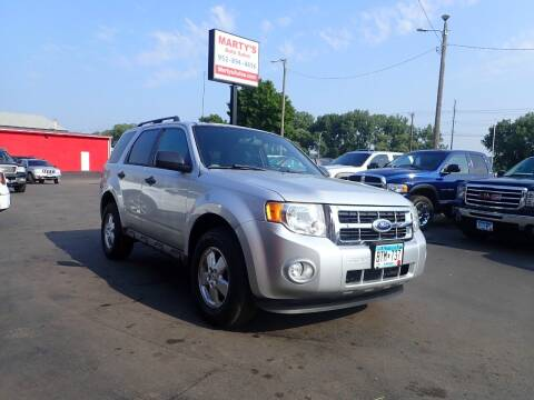 2012 Ford Escape for sale at Marty's Auto Sales in Savage MN