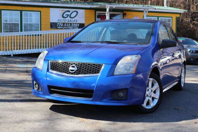 2011 Nissan Sentra for sale at Go Auto Sales in Gainesville GA