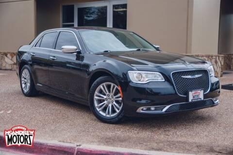 2017 Chrysler 300 for sale at Mcandrew Motors in Arlington TX
