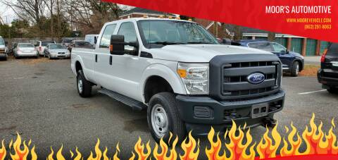 2012 Ford F-250 Super Duty for sale at Moor's Automotive in Hackettstown NJ