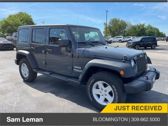 2017 Jeep Wrangler Unlimited for sale in Bloomington, IL