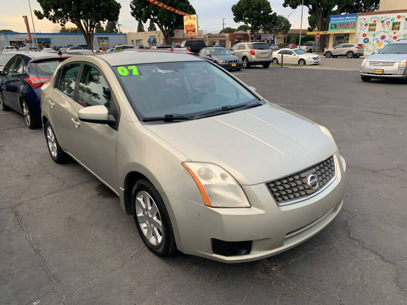 2007 Nissan Sentra for sale at L & M MOTORS in Santa Maria CA