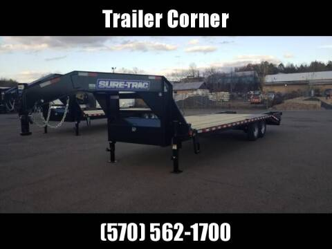 2021 Sure-Trac 15GN 20+5 KNEE RAMPS GOOSENECK