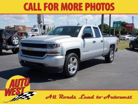 2017 Chevrolet Silverado 1500 for sale at Autowest of Plainwell in Plainwell MI