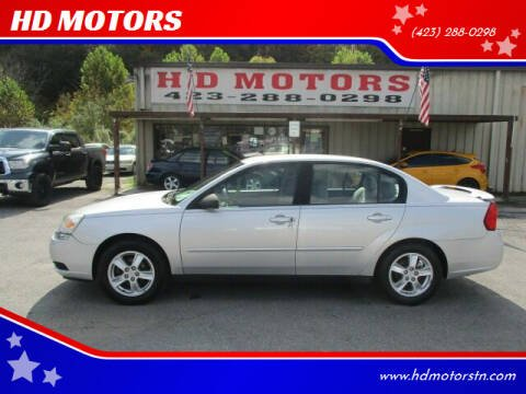 2005 Chevrolet Malibu for sale at HD MOTORS in Kingsport TN