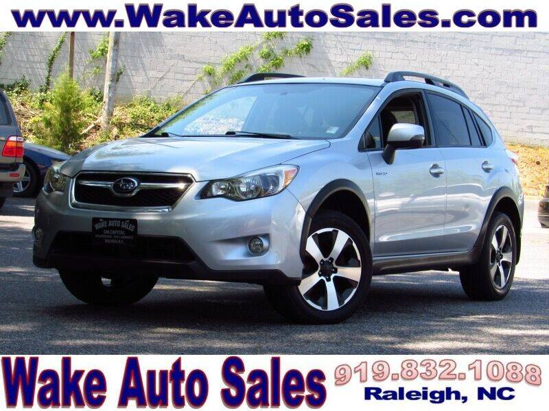 2014 Subaru XV Crosstrek for sale at Wake Auto Sales Inc in Raleigh NC