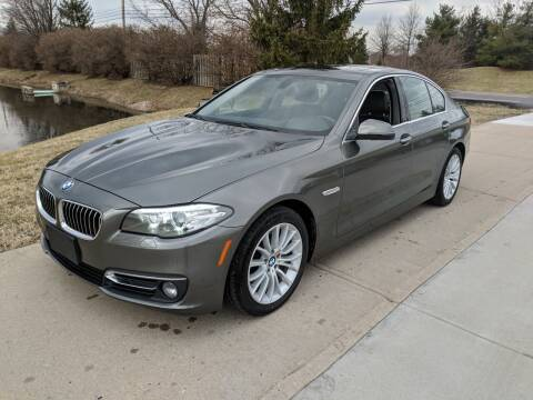 2015 BMW 5 Series for sale at Exclusive Automotive in West Chester OH