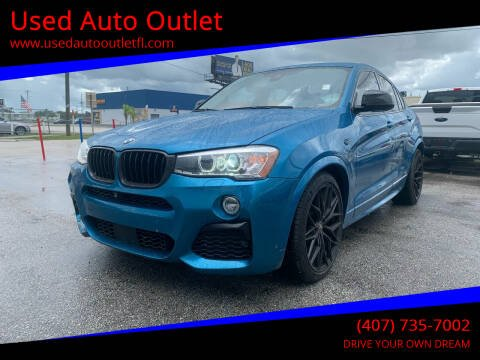 2016 BMW X4 for sale at Used Auto Outlet in Orlando FL