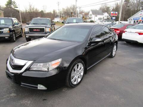2010 Acura RL for sale at Route 12 Auto Sales in Leominster MA