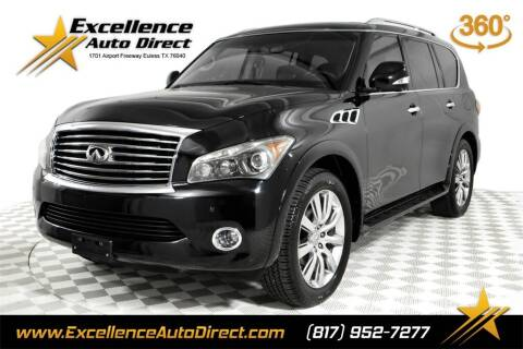 2012 Infiniti QX56 for sale at Excellence Auto Direct in Euless TX