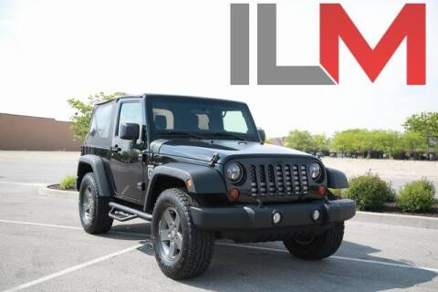 2011 Jeep Wrangler for sale at INDY LUXURY MOTORSPORTS in Fishers IN