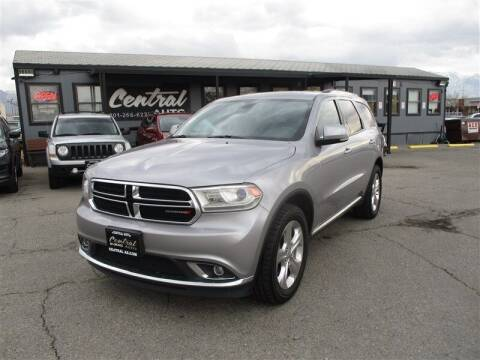 2014 Dodge Durango for sale at Central Auto in South Salt Lake UT