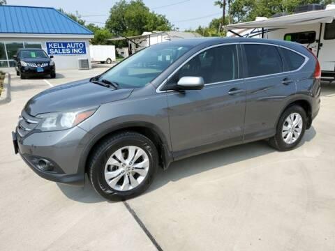 2014 Honda CR-V for sale at Kell Auto Sales, Inc - Grace Street in Wichita Falls TX