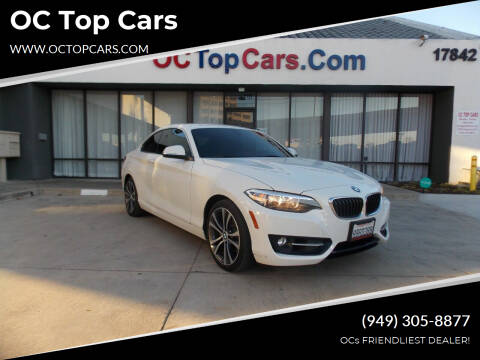 2016 BMW 2 Series for sale at OC Top Cars in Irvine CA