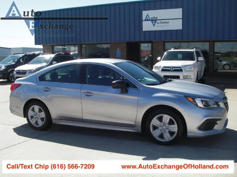 2018 Subaru Legacy for sale at Auto Exchange Of Holland in Holland MI