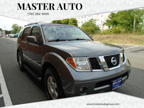 2005 Nissan Pathfinder for sale at Master Auto in Revere MA