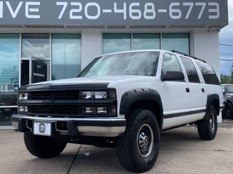1996 Chevrolet Suburban for sale at Shift Automotive in Denver CO
