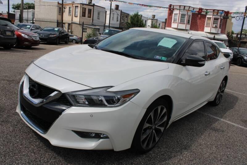 2016 Nissan Maxima for sale at EZ PASS AUTO SALES LLC in Philadelphia PA
