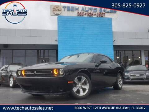 2017 Dodge Challenger for sale at Tech Auto Sales in Hialeah FL