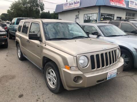 2009 Jeep Patriot for sale at TTT Auto Sales in Spokane WA