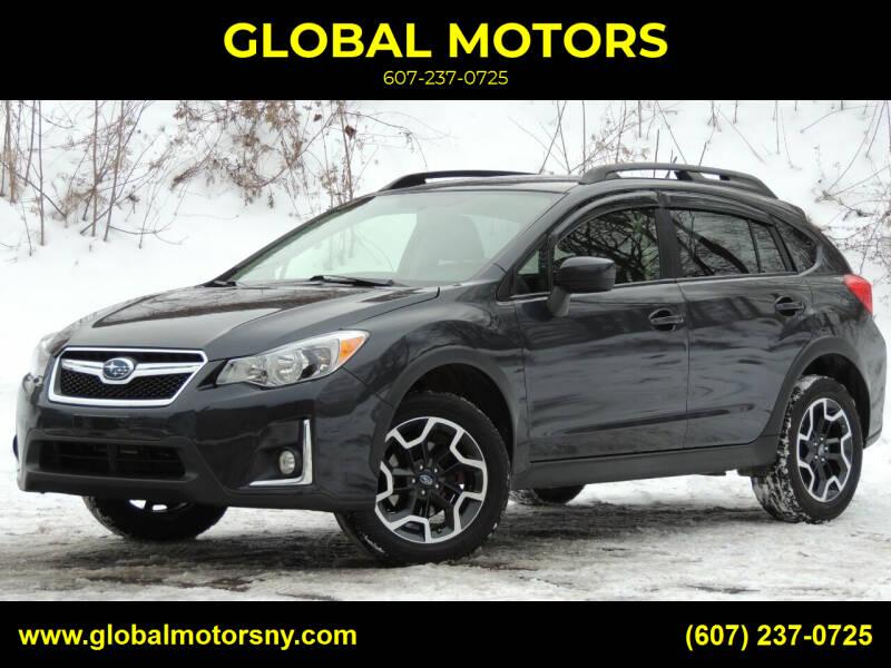 2017 Subaru Crosstrek for sale at GLOBAL MOTORS in Binghamton NY