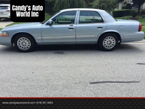 2004 Mercury Grand Marquis for sale at Candy's Auto World Inc in Toledo OH