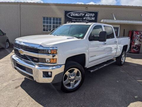 2015 Chevrolet Silverado 2500HD for sale at Quality Auto of Collins in Collins MS