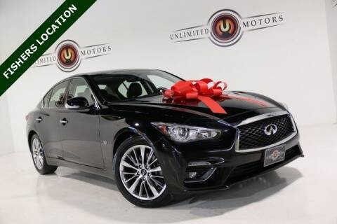 2018 Infiniti Q50 for sale at Unlimited Motors in Fishers IN