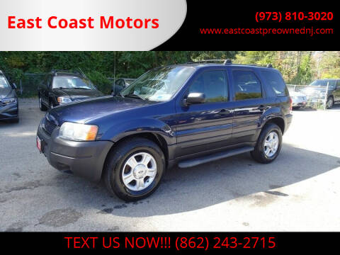 2004 Ford Escape for sale at East Coast Motors in Lake Hopatcong NJ