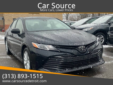 2018 Toyota Camry for sale at Car Source in Detroit MI