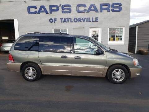 2004 Ford Freestar for sale at Caps Cars Of Taylorville in Taylorville IL