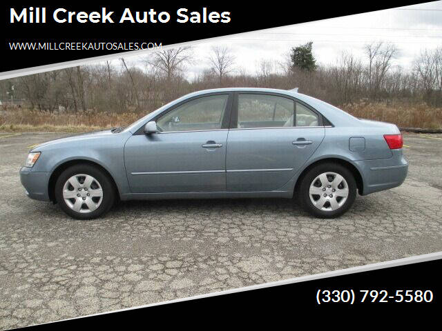 2009 Hyundai Sonata for sale at Mill Creek Auto Sales in Youngstown OH