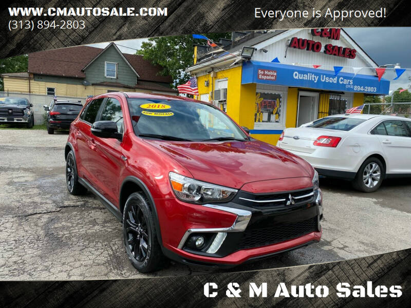 2018 Mitsubishi Outlander Sport for sale at C & M Auto Sales in Detroit MI