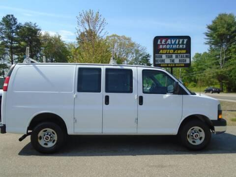 2014 GMC Savana Cargo for sale at Leavitt Brothers Auto in Hooksett NH