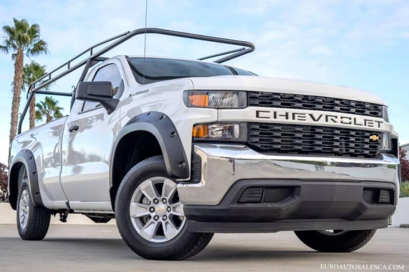 2019 Chevrolet Silverado 1500 for sale at Euro Auto Sales in Santa Clara CA