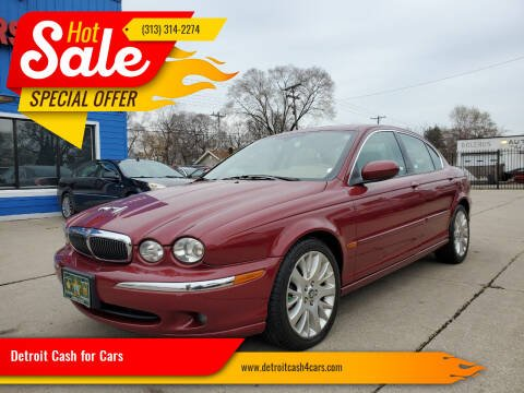 2003 Jaguar X-Type for sale at Detroit Cash for Cars in Warren MI