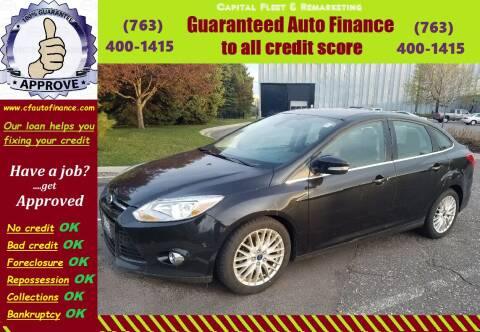 2012 Ford Focus for sale at Capital Fleet  & Remarketing  Auto Finance in Columbia Heights MN