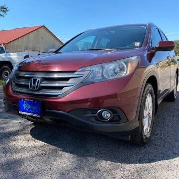 2012 Honda CR-V for sale at PITTMAN MOTOR CO in Lindale TX