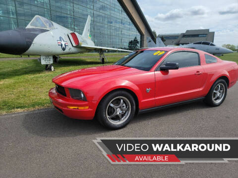 2009 Ford Mustang for sale at McMinnville Auto Sales LLC in Mcminnville OR
