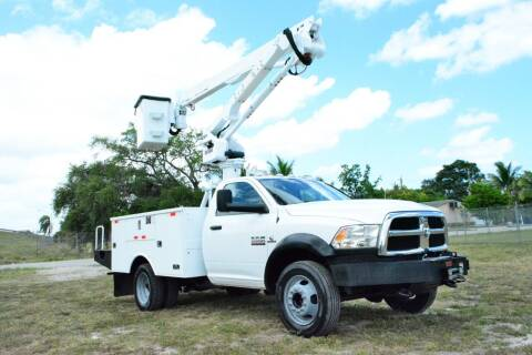 2013 RAM Ram Chassis 5500 for sale at American Trucks and Equipment in Hollywood FL