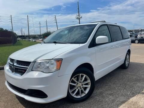 2015 Dodge Grand Caravan for sale at TWIN CITY MOTORS in Houston TX