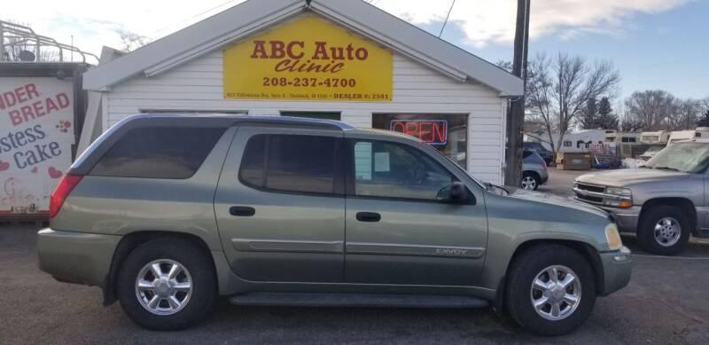 2004 GMC Envoy XUV for sale at ABC AUTO CLINIC - Chubbuck in Chubbuck ID