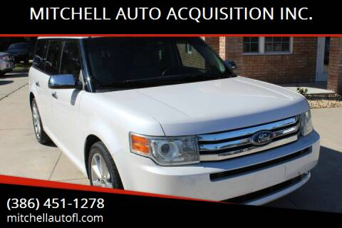2011 Ford Flex for sale at MITCHELL AUTO ACQUISITION INC. in Edgewater FL