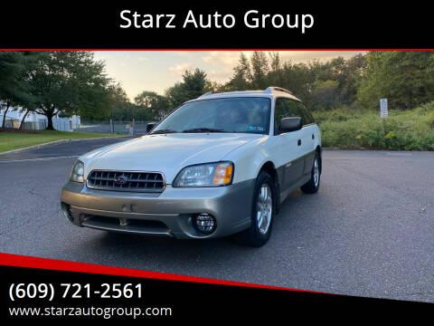 2003 Subaru Outback for sale at Starz Auto Group in Delran NJ