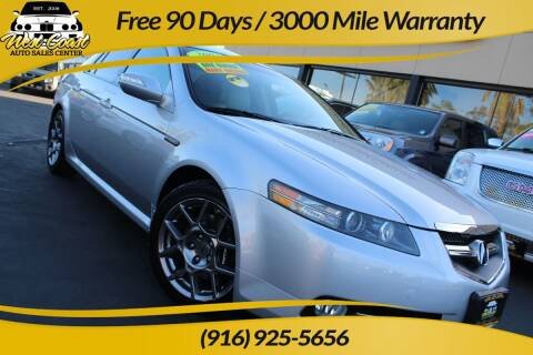 2007 Acura TL for sale at West Coast Auto Sales Center in Sacramento CA
