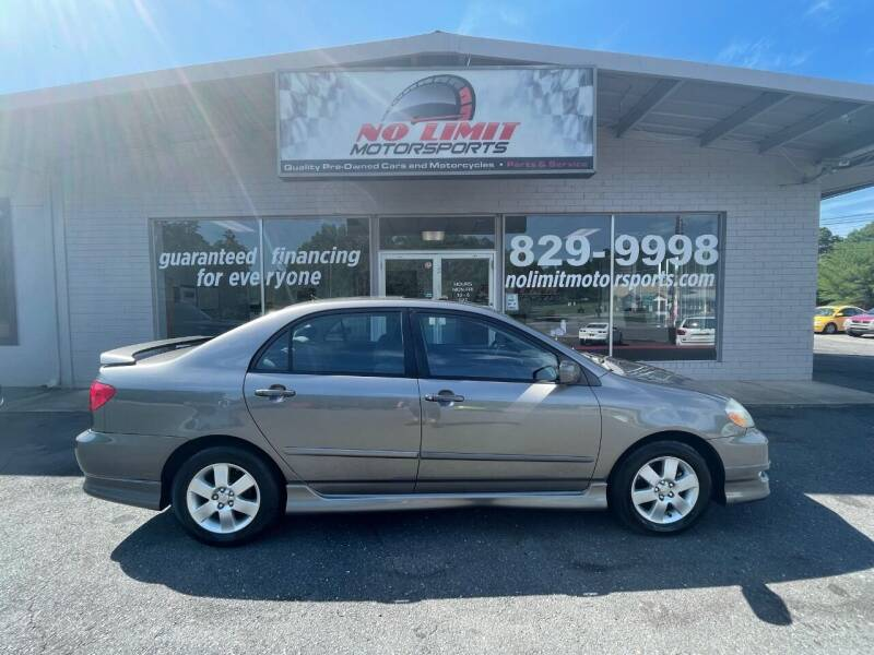 2008 Toyota Corolla for sale at NO LIMIT MOTORSPORTS in Belmont NC