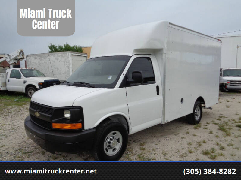 2013 Chevrolet Express Cutaway for sale at Miami Truck Center in Hialeah FL