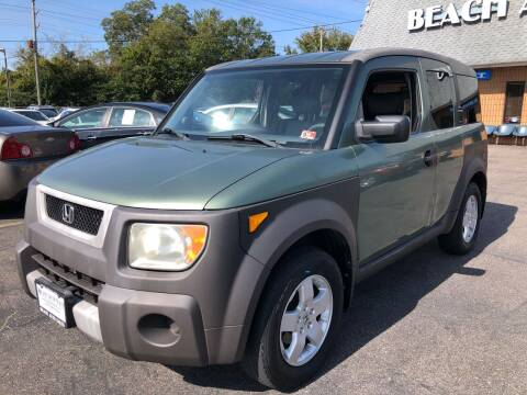 2003 Honda Element for sale at Beach Auto Sales in Virginia Beach VA